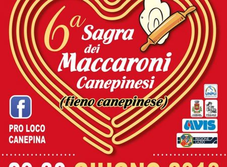 Aspettando la 6ª Sagra dei Maccaroni Canepinesi … 