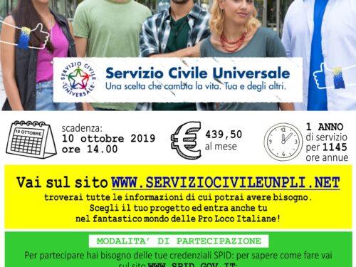 Bando Servizio Civile 2020